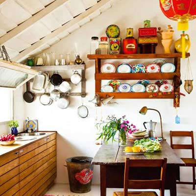 Eclectic Kitchens 00