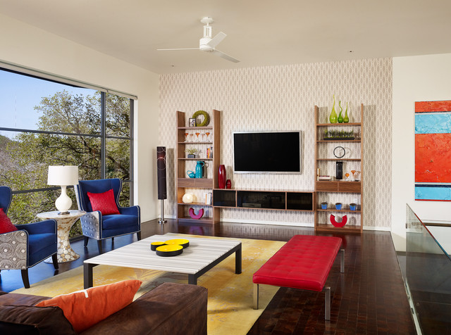 eclectic-living-Spaces Designed