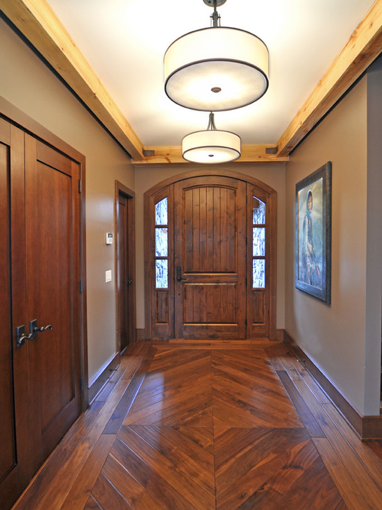 Cool Wooden Flooring Designs For 2017: 25 Amazing Traditional Entry Design Ideas