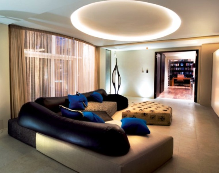 Exquisite Ultra Modern Living Rooms On Living Room