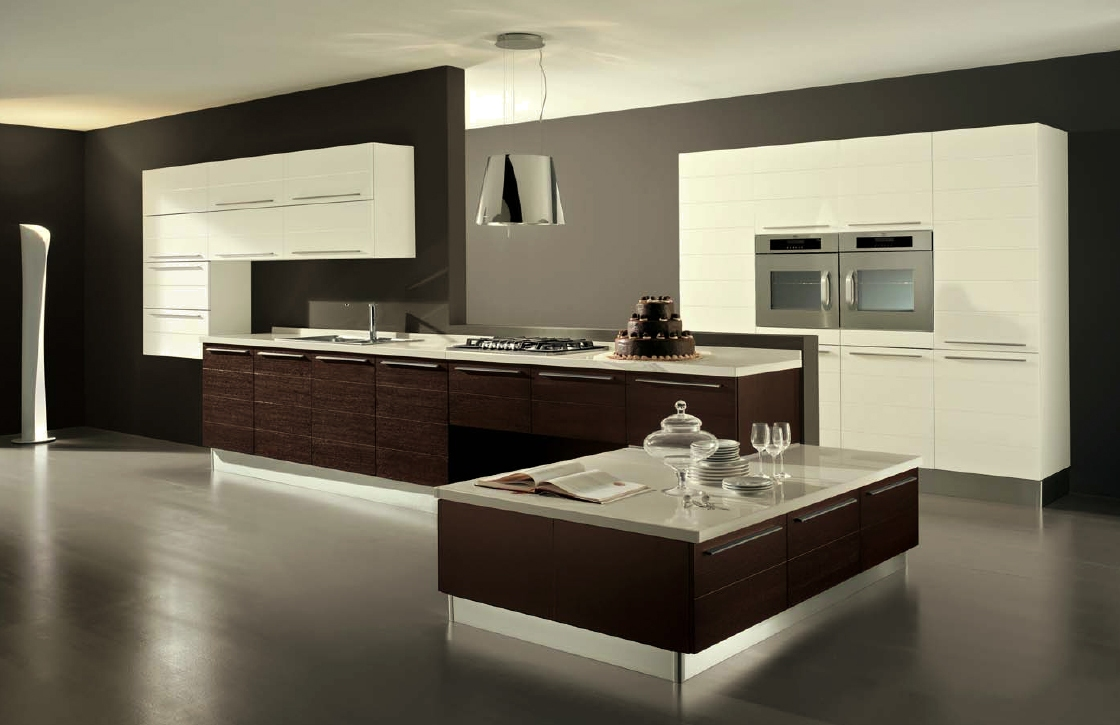 fresh modern kitchen design ideas big modern kitchen - Contemporary Kitchens Designs