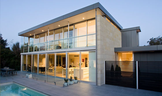 25 amazing modern glass house design