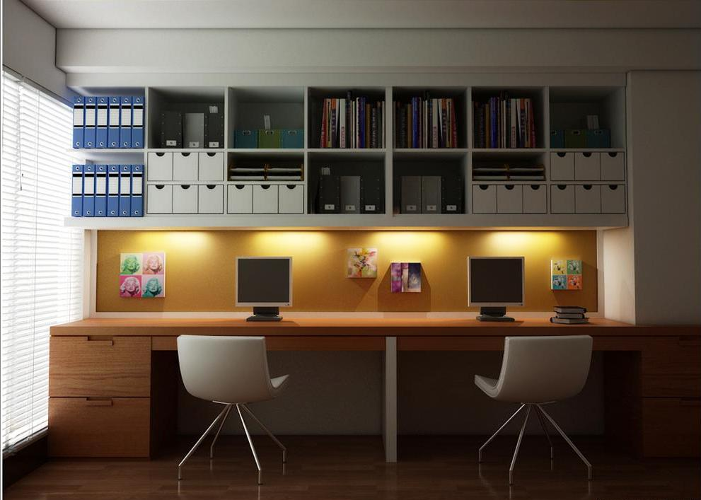 Contemporary Home Office Design Ideas: 25 Creative Home Office Design Ideas