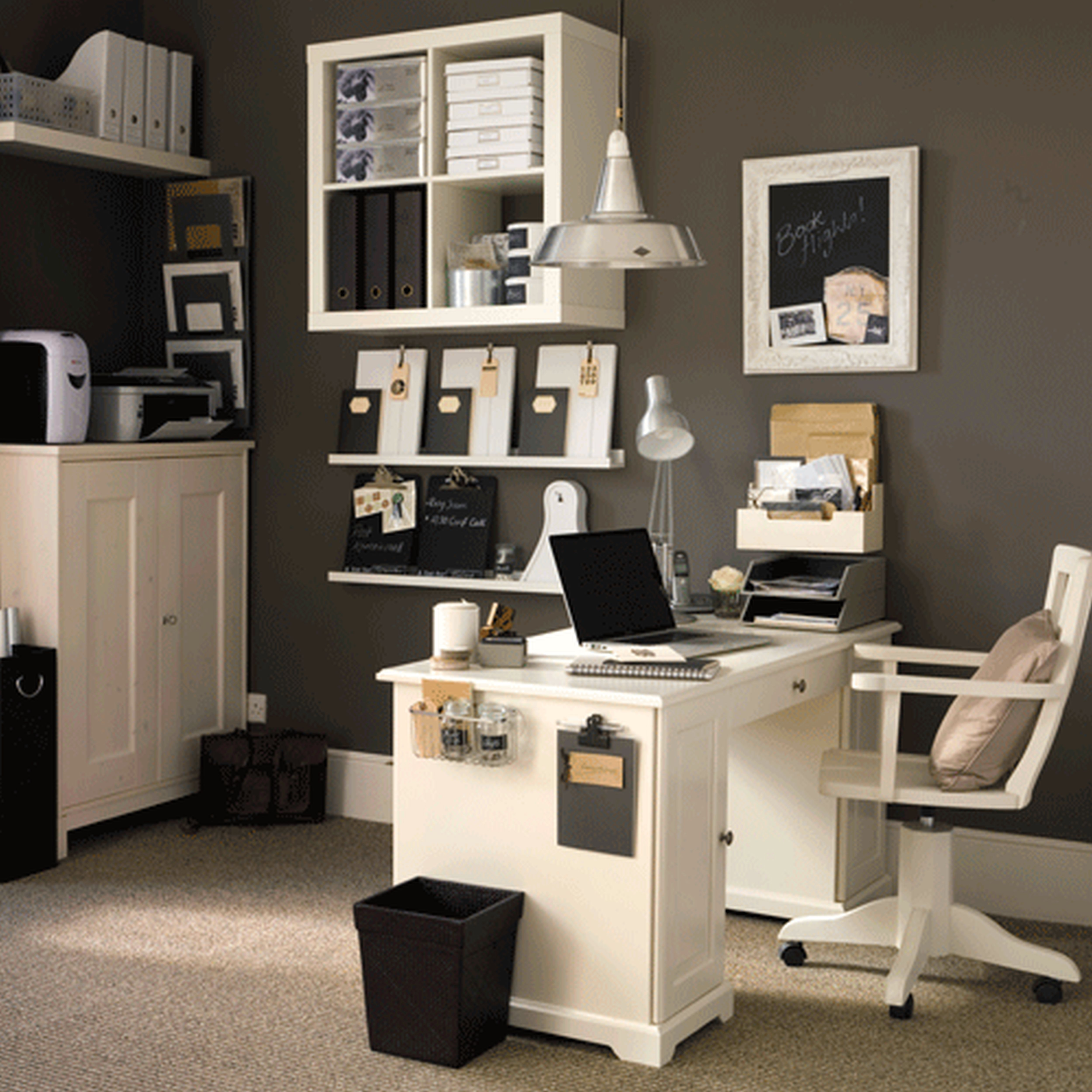 Incredible Cool Small Home Office Design Ideas With