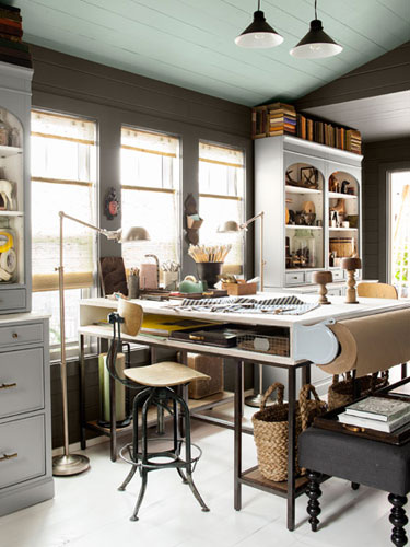 Interesting Creative Country Home Office Idea On All