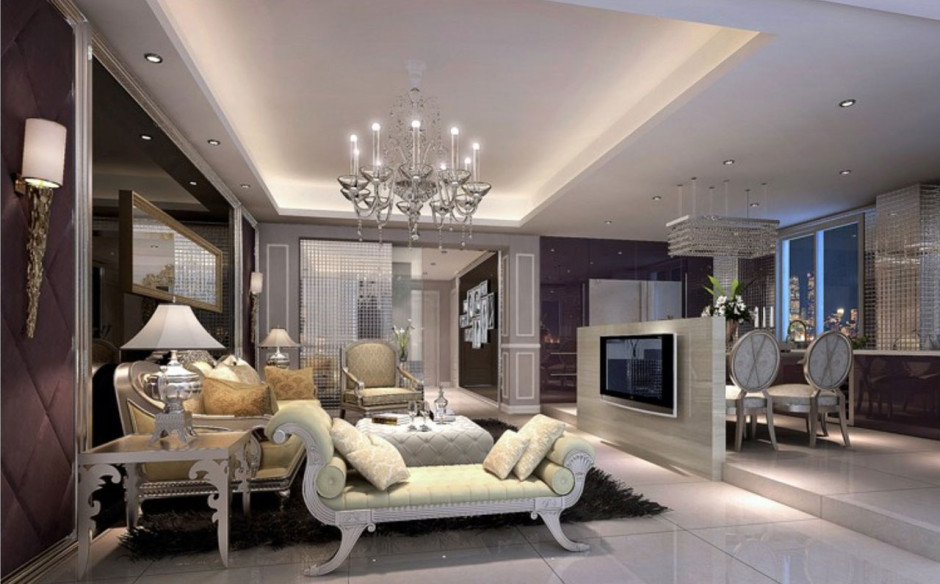Luxury Furniture Design And Inspiring Modern Living Room