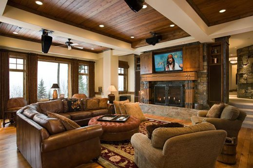 Magnificent Cozy Contemporary Living Room Design