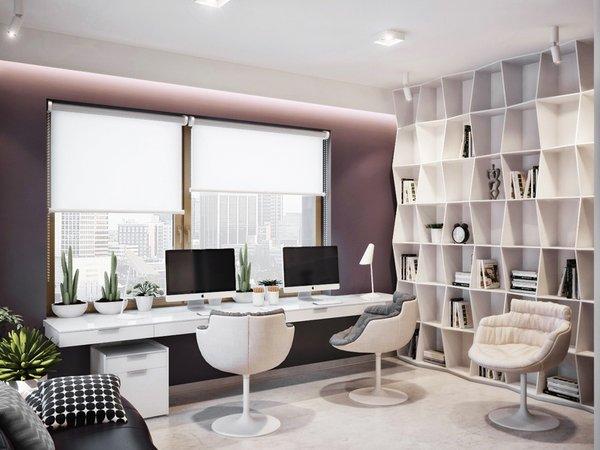 25 stunning modern home office designs Modern Home Office Decor