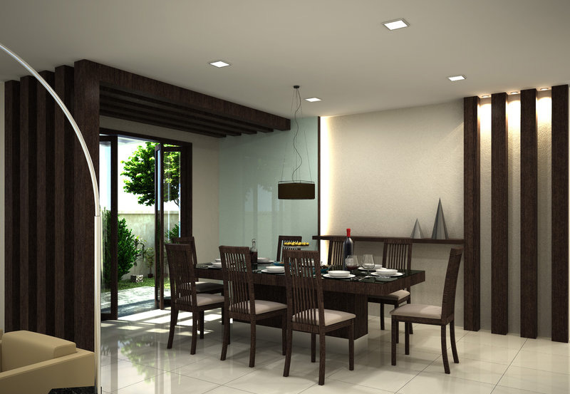 30 modern dining rooms design ideas for Dining room decor modern