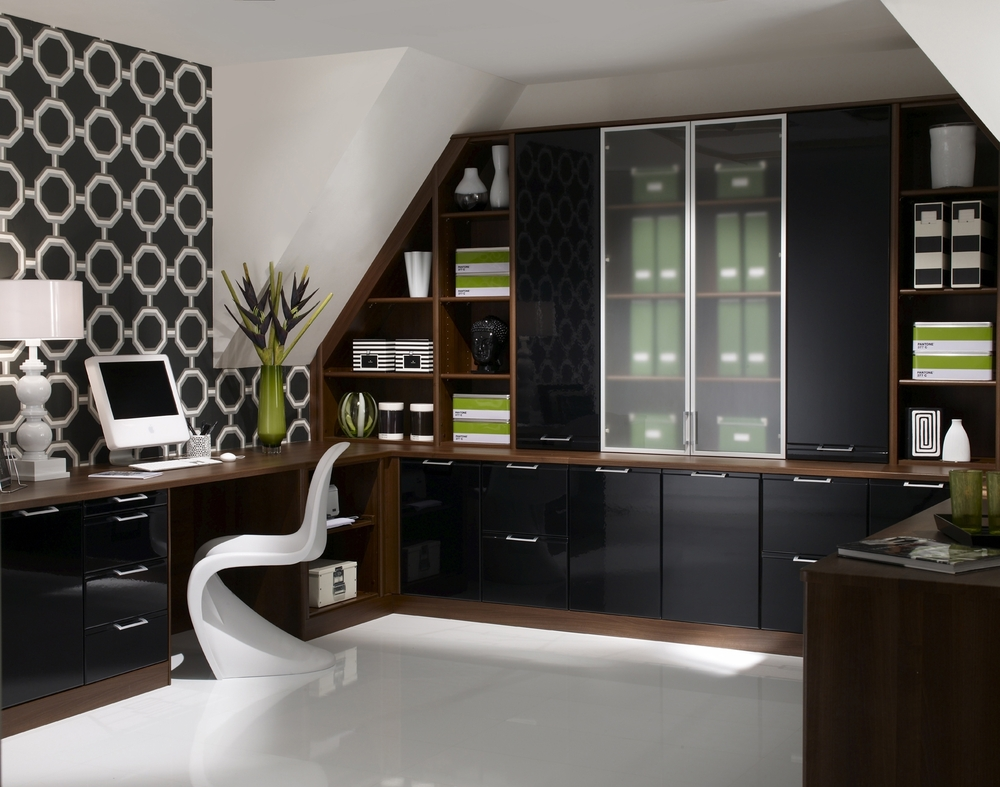 Home Office Layout Ideas: 25 Best Contemporary Home Office Design