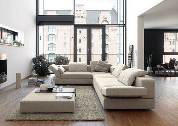 Contemporary Living Room Furniture - The Interior Designs