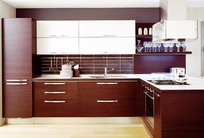 modern-wood-kitchen-cabinets & 20 Cool Modern Wooden Kitchen Designs