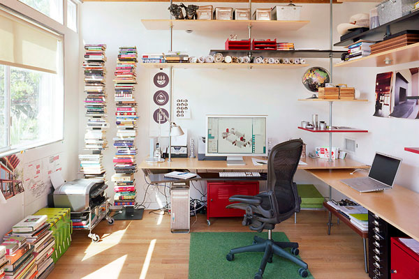25 Creative Home Office Design Ideas