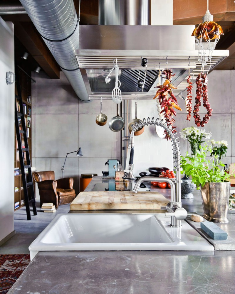 other-kitchen-contemporary-eclectic-industrial-kitchen-with-cool-kitchen-set