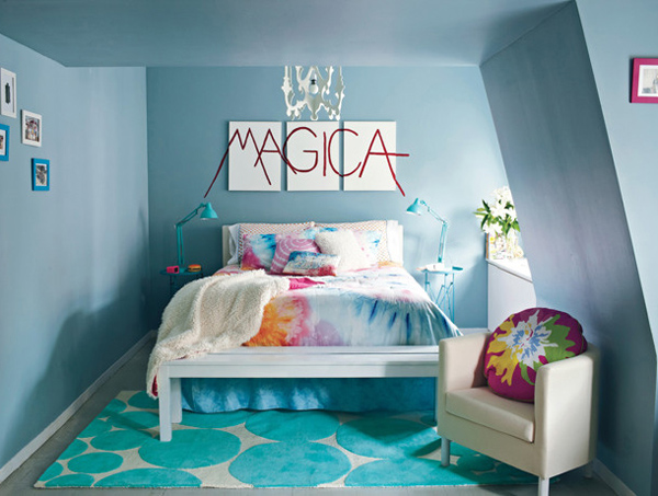 Stylish Colorful Teen Bedroom Design Ideas