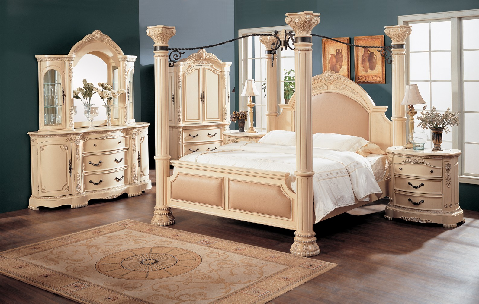 traditional-bedroom-furniture-as-painted-bedroom-furniture-to-the-inspiration