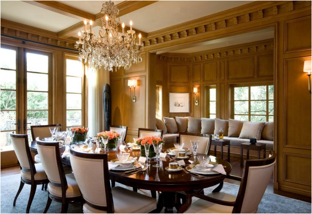 Traditional Dining Room Designs11