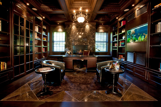 Traditional Home Office Luxury