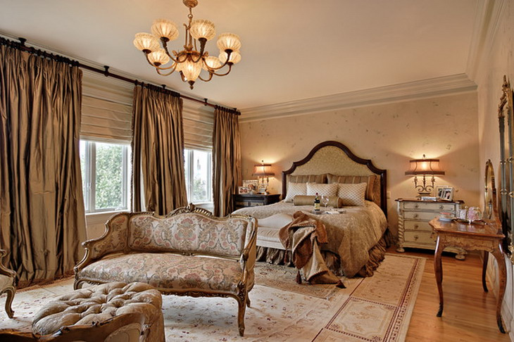25 Stunning Traditional Bedroom Designs