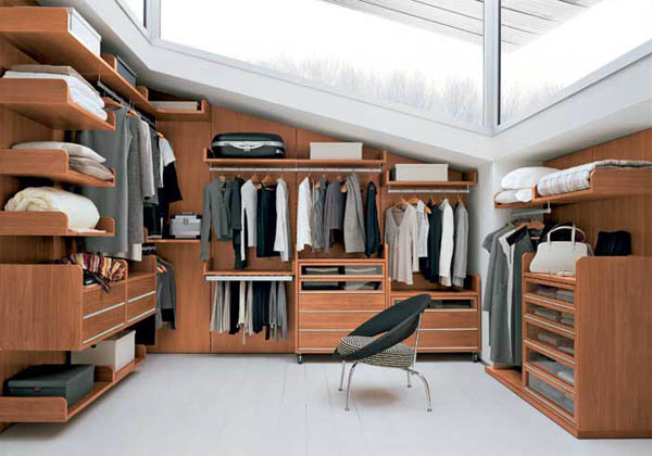 25 best contemporary storage closets designs for Best walk in closets in the world