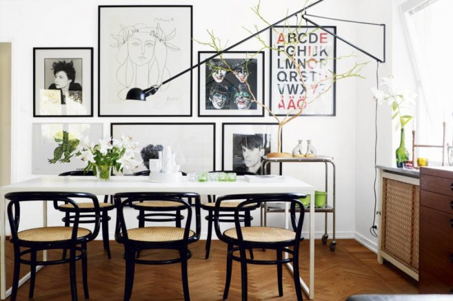 white-eclectic-dining-room-vintage-style