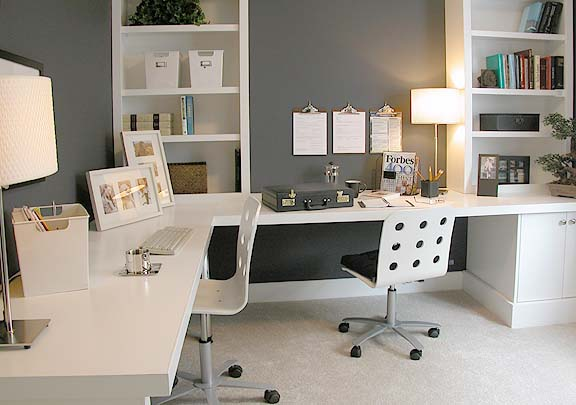 Designing A Home Office You White Home Office Ideas