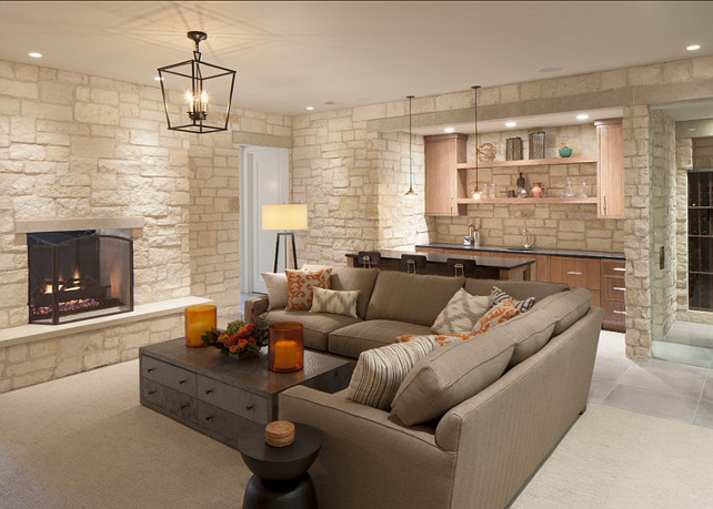 15 incredible farmhouse basement design for Farmhouse basement
