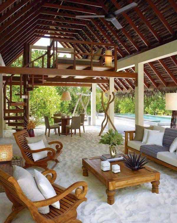 27 fun and airy beach style outdoor living - Outdoor Design Ideas