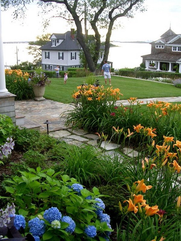 amazing beach style garden patio exterior