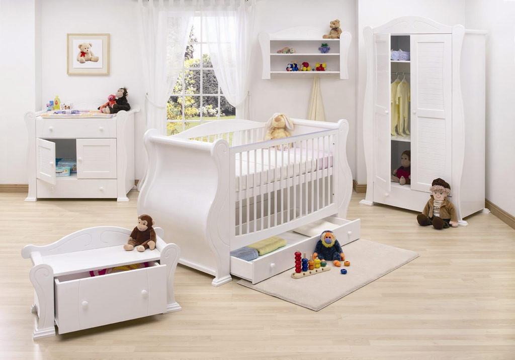 Baby-Nursery-Decor-White