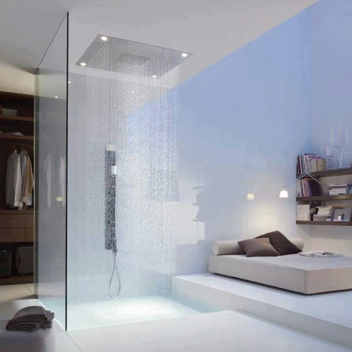 15 Beautiful Bathrooms With Rain Shower