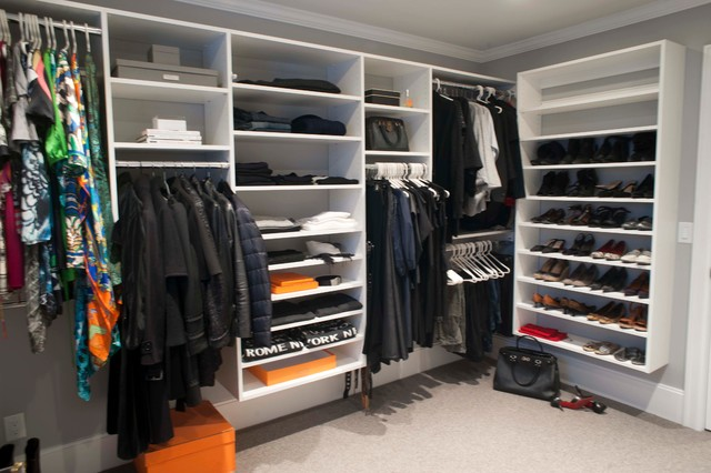 Beach Style Storage & Closets Design