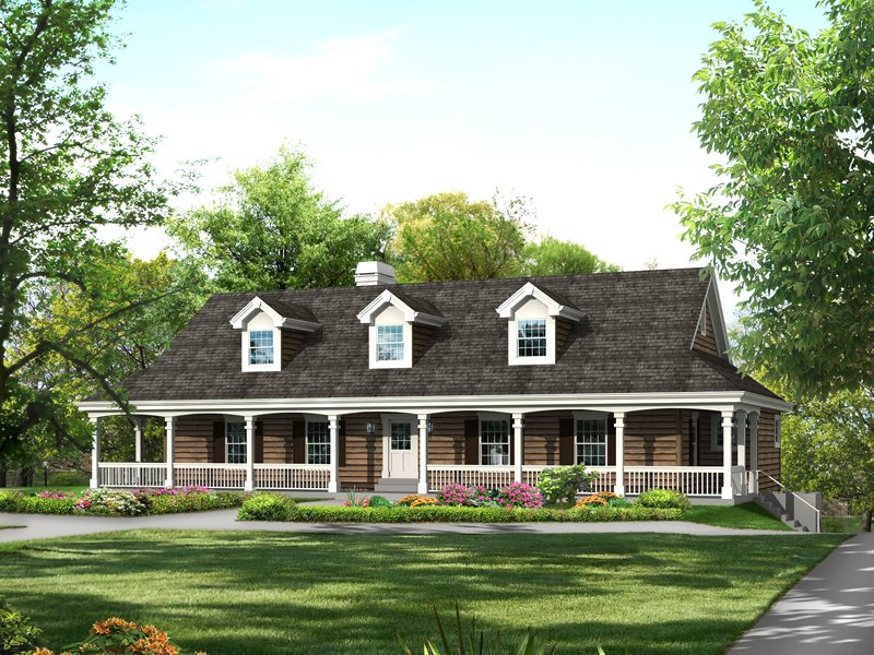 25 great farmhouse exterior design for Country house exterior