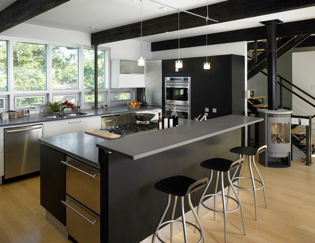 Delicieux Black Kitchen Design