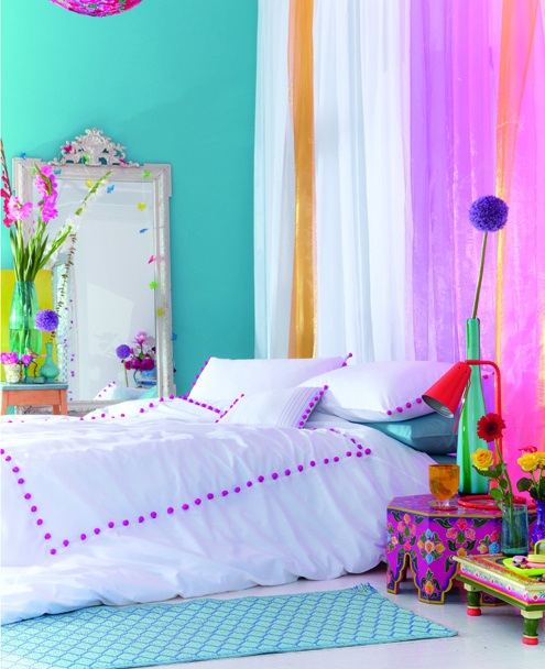 Bright-Colored-Bedroom