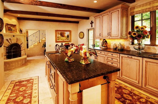 Bright-Mediterranean-Kitchen-Decoration