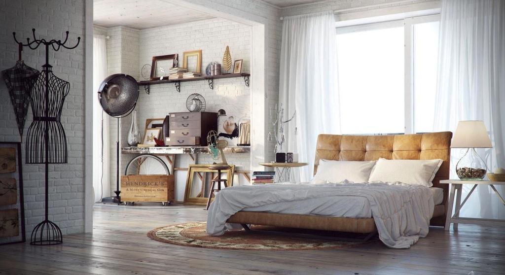 Chic-Indsutrial-Bedroom
