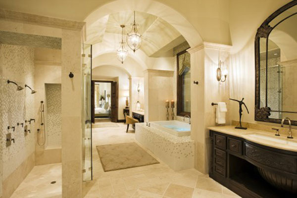 Old World Bathroom Design Ideas: 20 Best Mediterranean Bathroom Designs
