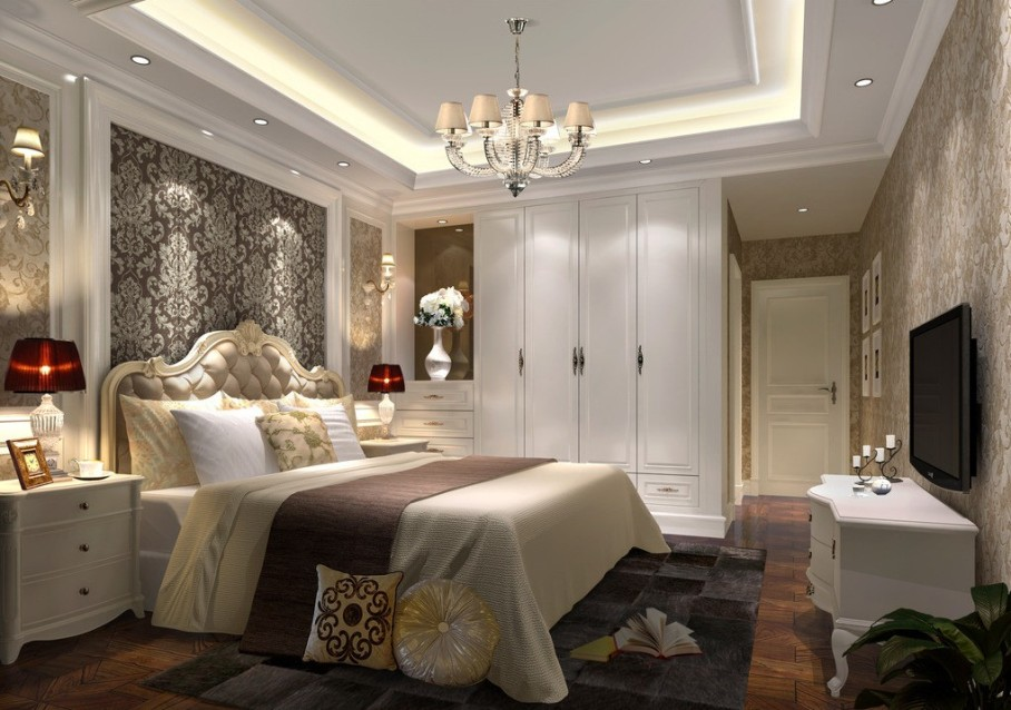 25 sleek and elegant bedroom design ideas for Elegant bedroom designs