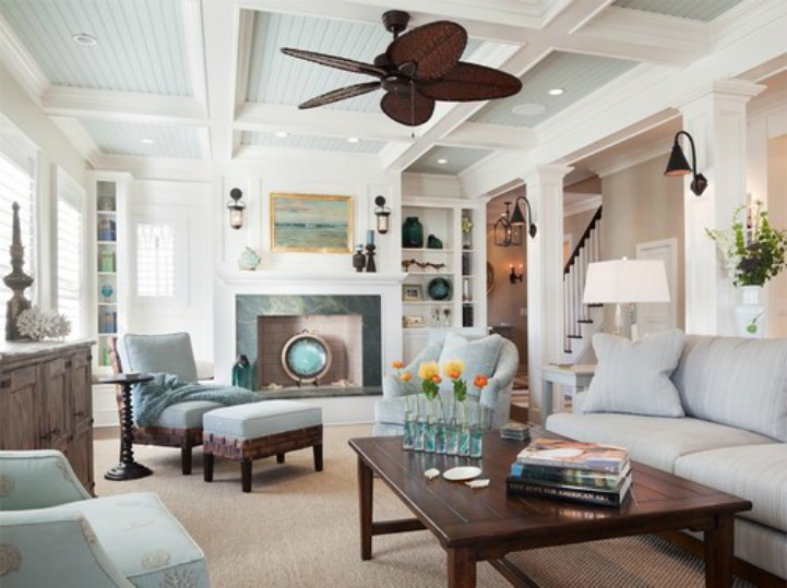 beach style living rooms. Coastal Color Palate 21 Fantastic Beach Style Living Room Ideas