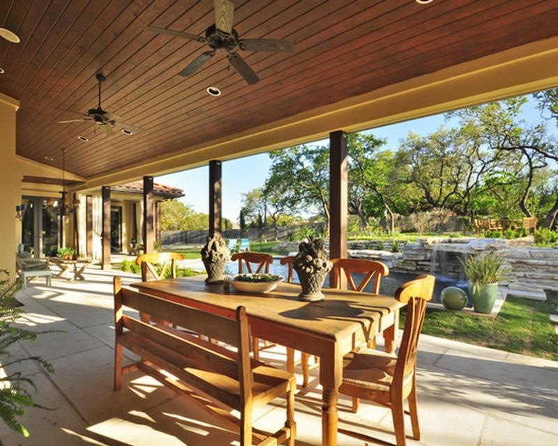 Contemporary-Patio-Outdoor-Farmhouse-Table-Design