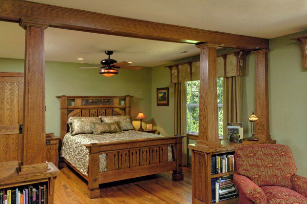 Craftsman-Bedroom-Interior-Designs