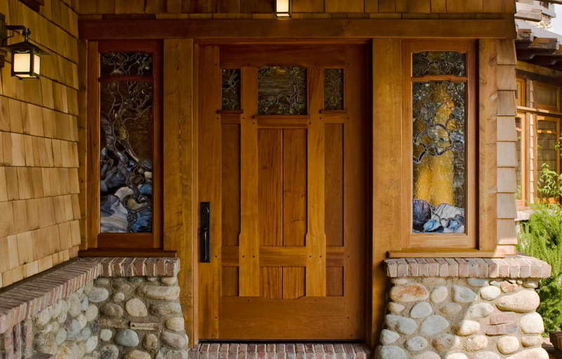 Craftsman-Front-Door-With-Classic-Design