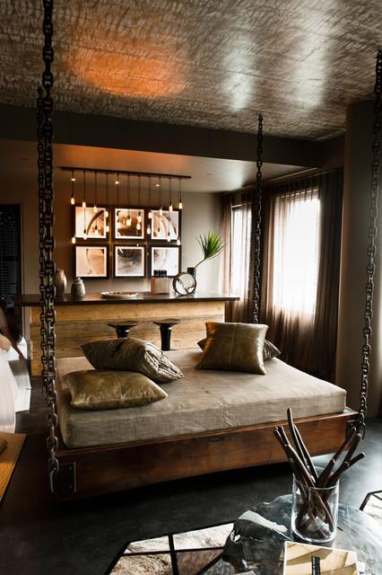 Dexter Space industrial-bedroom