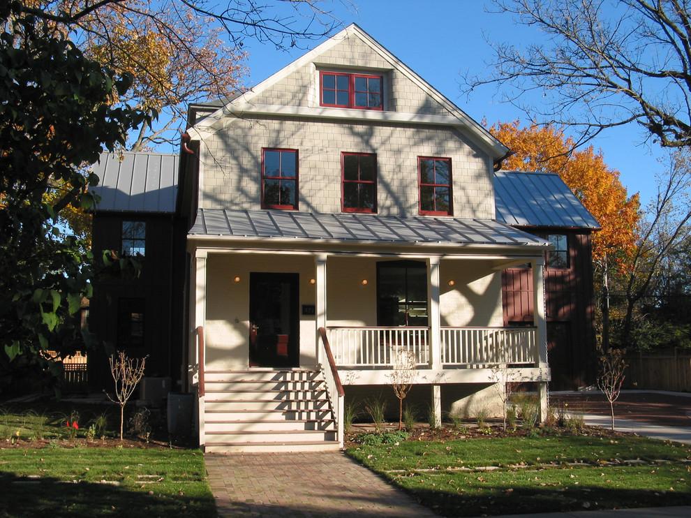 Elegant-Modern-Barn-home-interior-design-Farmhouse-Exterior-Chicago