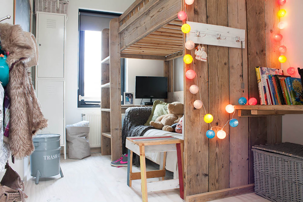 Engaging-Kids-Eclectic-design-ideas-for-Pottery-Barn-Cottage-Loft-Bed-Decorating-Ideas