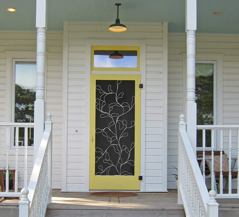 Entry-mid century-design-ideas--Front-Doors-Decorating-Ideas