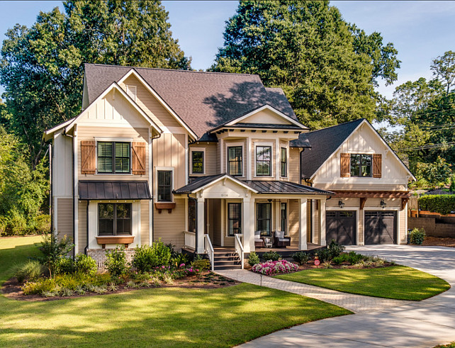 Exterior-Paint-Color-Ideas.-The-colors-are-Sherwin-Williams-Khaki-Shade-7533-for-the-siding-and-Sherwin-Williams-Summer-White-7557-for-the-trim.-ExteriorPaintColor-PaintColor-SherwinWilliams