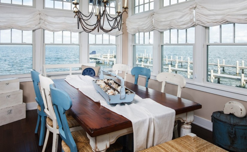 Fair-Distressed-Table-home-interior-design-Beach-Style-Dining-Room-Other-Metro