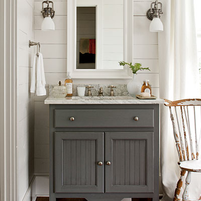 Farm Style Bathroom Designs. Farmhouse Bath